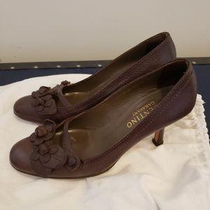 Valentino brown pumps. Size 7.5.